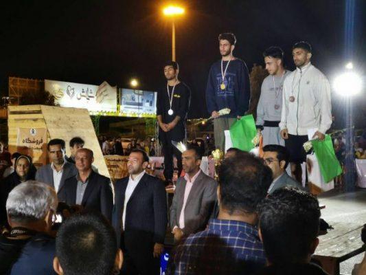 مسابقه کشوری پارکور در بندر عباس